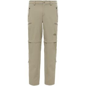 The North Face Exploration Pantalones convertibles Hombre, beige